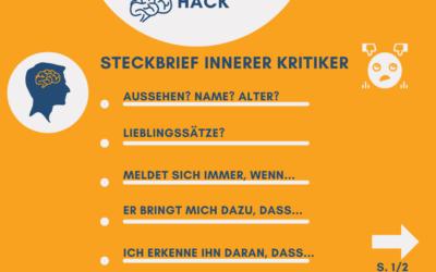 MentalCharisma-Hack  Der Steckbrief des inneren Kritikers