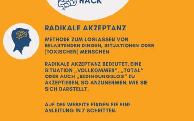 Mentalcharisma Hack: Anleitung in 7 Schritten: RADIKALE AKZEPTANZ